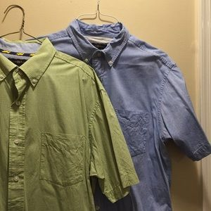 Club Room Shirts - BUNDLE!!! 2 Club Room short sleeve button downs